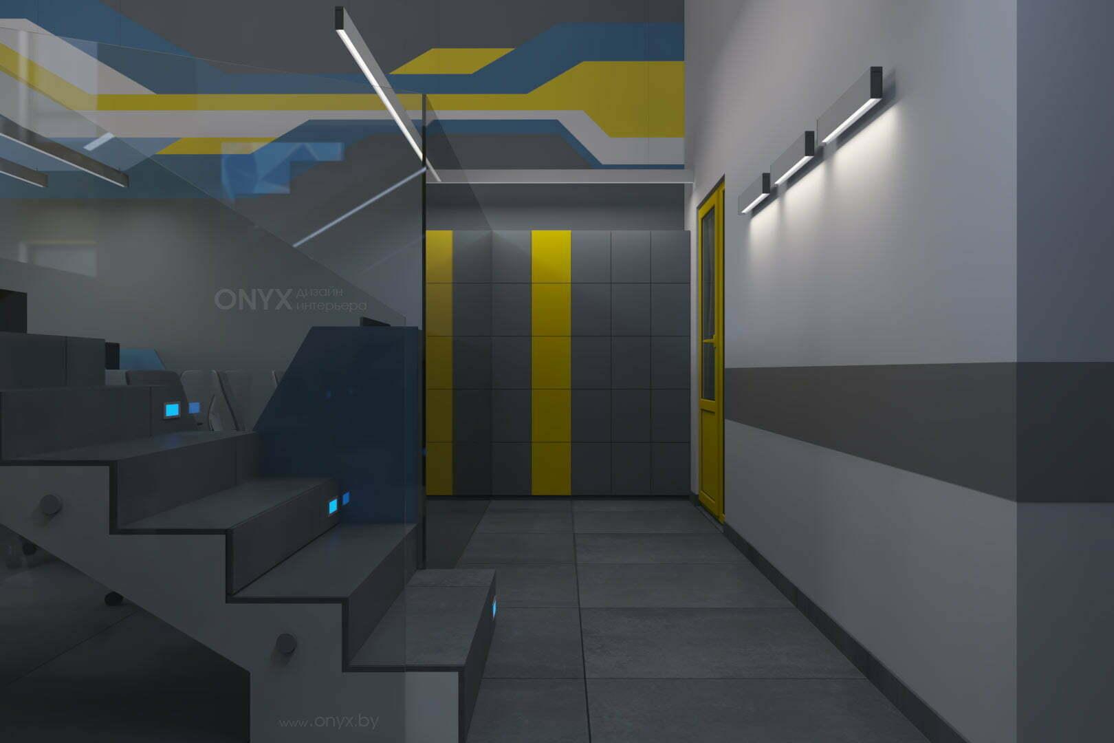 Дизайн интерьера офиса «Поедешь в таксо?»