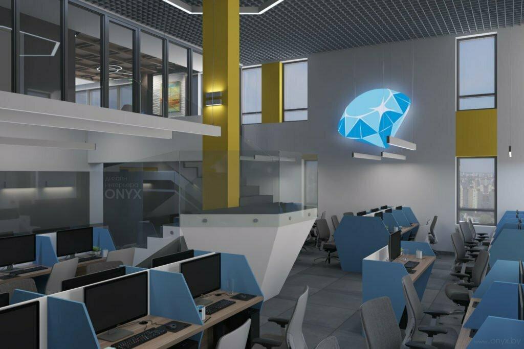 Стильный дизайн офиса в Минске