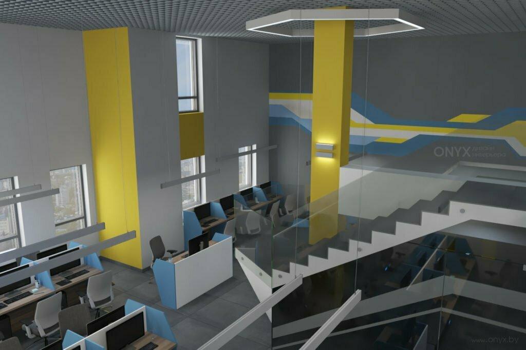 Офис опенспейс