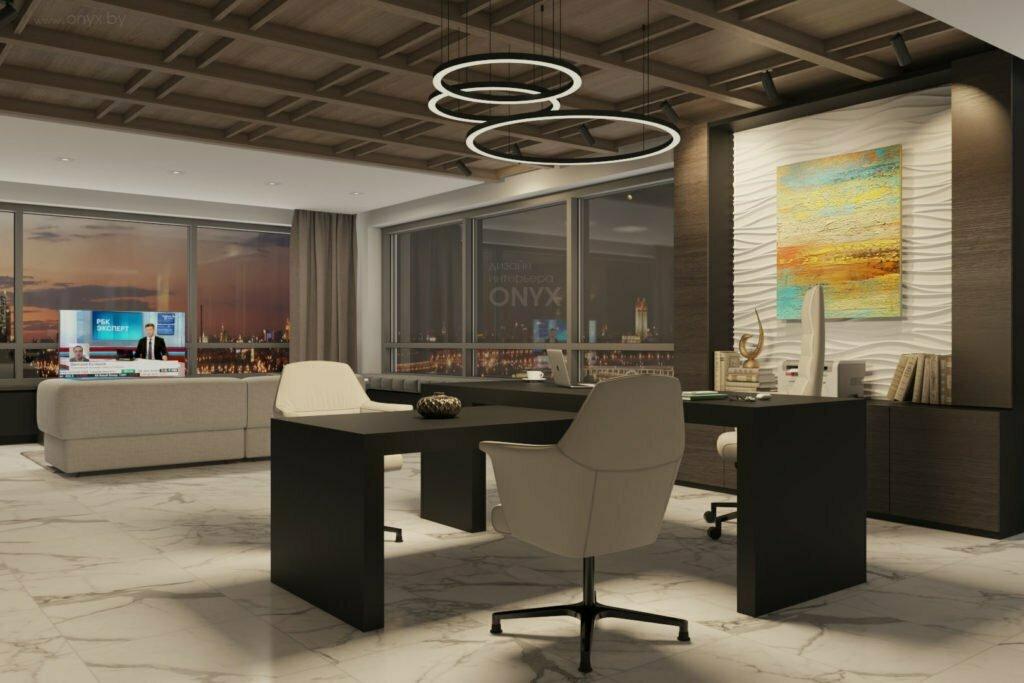 Дизайн кабинета для руководителя