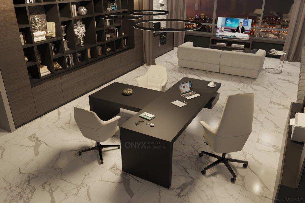 Современный кабинет для руководителя
