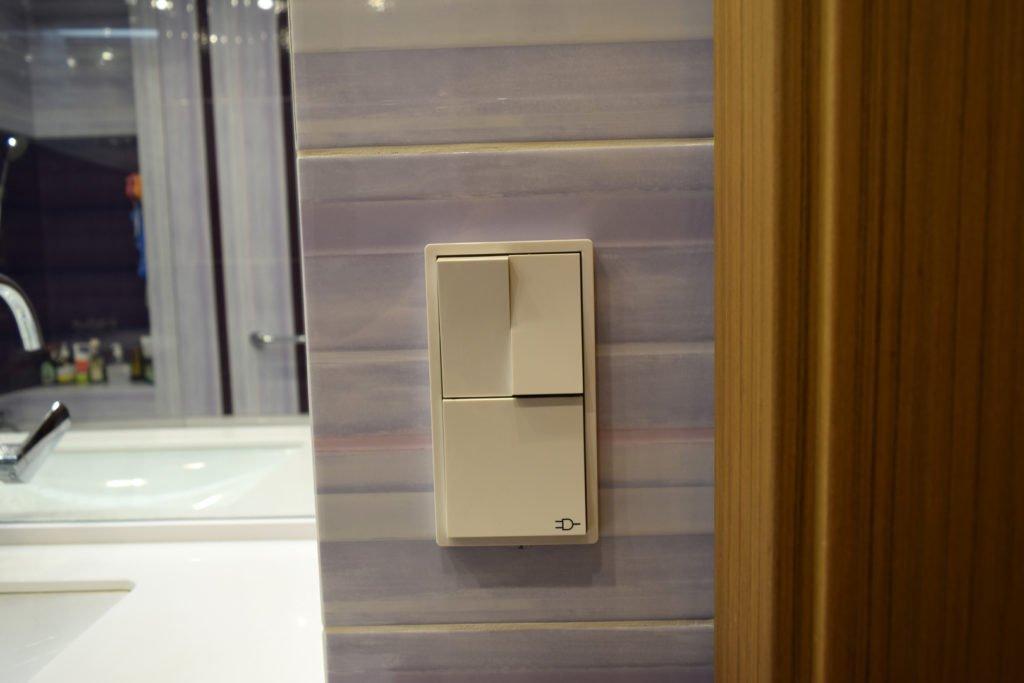 розетка ip44 в ванной